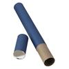 "Blue Fiberboard Tubes 25"""