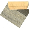 "1/4"" Scale Architectural Components Shingles-textured paper card stock—70 sq. in."