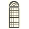 "1/4"" Scale Architectural Components 53-pane double hung round-top window set of 3"