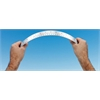 "Alvin 15"" Flexible Stainless Steel Ruler"