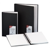 5 x 7 Classic Black Wirebound Sketch Book