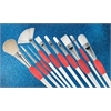 Princeton Good White Synthetic Hair Watercolor and Acrylic Brush Short Shader 6