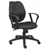 Boss Black Task Chair W/Loop Arms