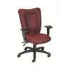 Boss Burgundy Task Chair With 3 Paddle Mechanism