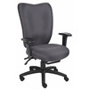 Boss Grey Task Chair With 3 Paddle Mechanism W/ Seat Slider