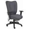 Boss Black Task Chair With 3 Paddle Mechanism W/ Seat Slider