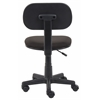 Boss Black Fabric Steno Chair