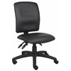 Boss Multi-Function Fabric LeatherPlus Task Chair
