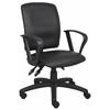 Boss Multi-Function Leatherplus Task Chair W/Loop Arms