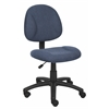 Boss Blue  Deluxe Posture Chair