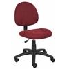 Boss Burgundy  Deluxe Posture Chair