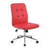 Boss Modern Office Chair - Red
