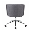 Boss Metro Club Desk Chair - Slate Grey