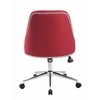 Boss Carnegie Desk Chair - Marsala Red