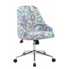 Boss Carnegie Desk Chair - Paisley