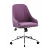 Boss Carnegie Desk Chair - Purple