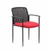 Boss Stackable Mes Guest Chair - Red