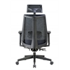 Boss Contemporary Mesh Executive Chair with Headrest