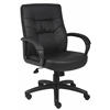 Boss Executive Mid Back LeatherPlus Chair