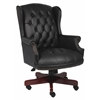 Boss Wingback Traditional Chair In Black
