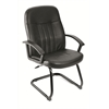 Boss Executive Leather Budget Guest Chair