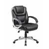 Boss NTR Executive Mid Back LeatherPlus Chair