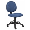 Boss Diamond Task Chair In Blue