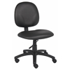 Boss Diamond Task Chair In Black Caressoft