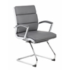 Boss Executive CaressoftPlus™ Chair with Metal Chrome Finish - Guest Chair