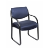 Boss Blue Fabric Guest Chair