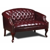 Boss Classic Traditional Button Tufted Loveseat.
