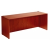 "Boss Desk Shell, 71""W X 36""D, Cherry"