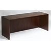 "Boss Desk Shell, 66""W X 30""D, Mahogany"