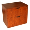 Boss 2-Drawer Lateral File, Cherry