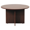"Boss 42"" Round Table, Mahogany"