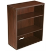 Boss Open Hutch/Bookcase- Mahogany