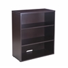 Boss Open Hutch/Bookcase- Mocha