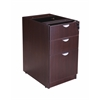 Boss Deluxe Pedestal-Full, Box/Box/File, 15.5W*22D, Mocha
