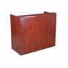 "Boss 48"" Reception Desk, Cherry"