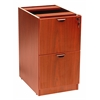 Boss Full Pedestal File/File, Cherry
