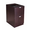 Boss Full Pedestal File/File, Mocha