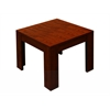 "Boss 22""X22"" Mahogany End Table"