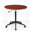 "32"" Mobile Round Table, Cherry"