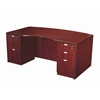 Boss Light Bow Front Desk Shell