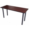 "Boss Training Table 72""W X 24""D Mahogany"