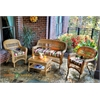 Tortuga Outdoor Portside 4Pc Seating - Amber - Eastbay Pompeii