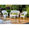 Portside 4Pc Seating - White - Monti Leaf