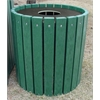 Frog Furnishings 55 Gal. Green Heavy Duty Round Receptacle