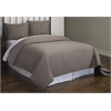 Christopher Grey Rectangle Stitch 3pc Quilt Set King, Grey