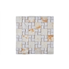 Mosaic With Stone, Beige, Off White